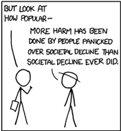 Panel from xkcd webcomic