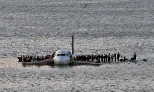 January 15: Plane in Hudson