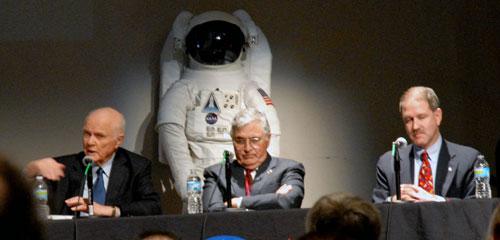 NASA Panel: John Glenn, Harrison Schmitt, John Grunsfeld